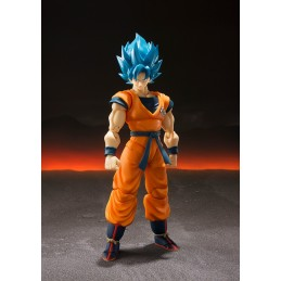 DRAGON BALL SUPER SAIYAN GOD SS GOKU S.H. FIGUARTS ACTION FIGURE