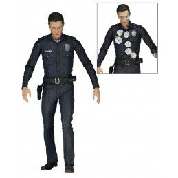 TERMINATOR GENISYS T-1000 POLICE DISGUISE ACTION FIGURE NECA