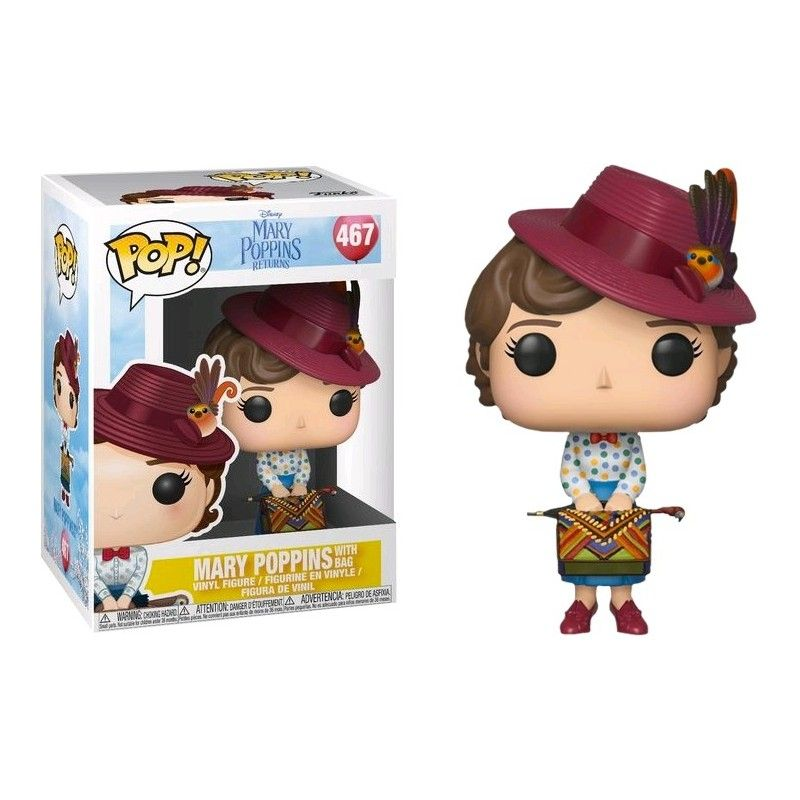 FUNKO POP! MARY POPPINS RETURNS - MARY POPPINS WITH BAG
