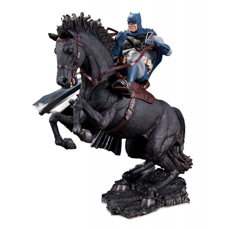BATMAN THE DARK KNIGHT RETURNS CALL TO ARMS MINI BATTLE STATUE RESIN 20CM FIGURE DIORAMA
