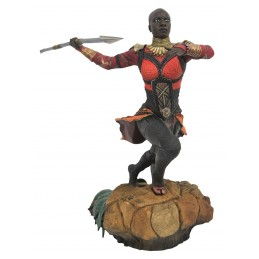 MARVEL GALLERY BLACK PANTHER MOVIE - OKOYE STATUE 23CM FIGURE