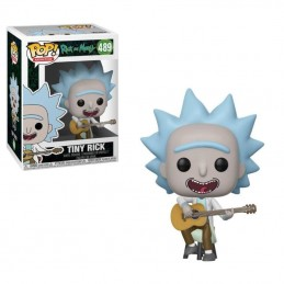 FUNKO POP! RICK AND MORTY - TINY RICK BOBBLE HEAD KNOCKER FIGURE