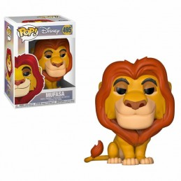 FUNKO POP! DISNEY THE LION KING - MUFASA BOBBLE HEAD KNOCKER FIGURE