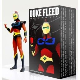 GRENDIZER GOLDRAKE - ACTARUS DUKE FLEED 20 CM POLYSTONE FIGURE