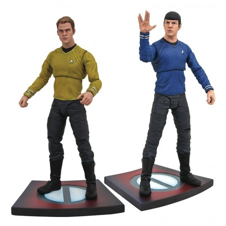 STAR TREK INTO DARKNESS - KIRK AND SPOCK ACTION FIGURE