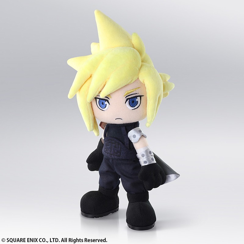 FINAL FANTASY 7 CLOUD STRIFE PLUSH PELUCHE 30 CM FIGURE