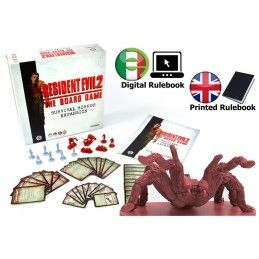 STEAMFORGED GAMES RESIDENT EVIL 2 SURVIVAL HORROR EXPANSION INGLESE