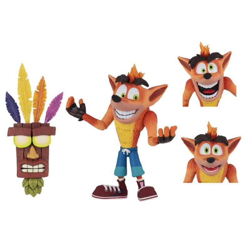CRASH BANDICOOT ULTRA DELUXE ACTION FIGURE