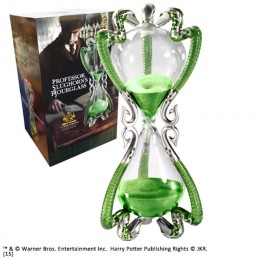 HARRY POTTER PROFESSOR SLUGHORN'S LUMACORNO HOURGLASS CLESSIDRA NOBLE COLLECTIONS