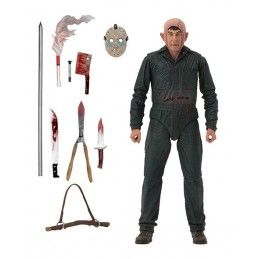 NECA FRIDAY THE 13TH ULT ROY BURNS PART 5 ACTION FIGURE