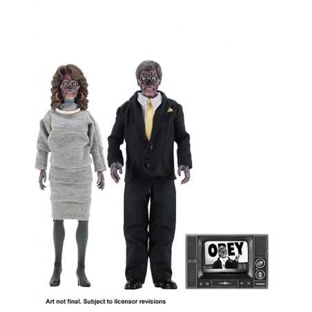 THEY LIVE CLOTHED 2 PACK ACTION FIGURE