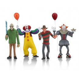 TOONY TERRORS 4 PACK SET ACTION FIGURE