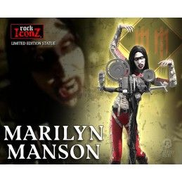 ROCK ICONZ - MARILYN MANSON STATUE FIGURE KNUCKLEBONZ