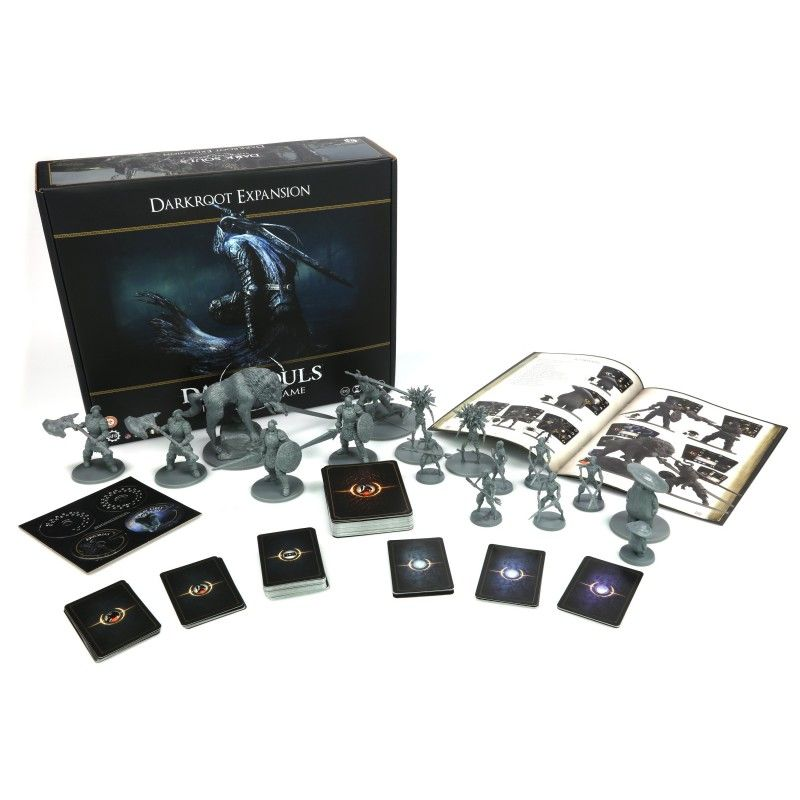 STEAMFORGED GAMES DARK SOULS THE BOARD GAME DARKROOT ESPANSIONE GIOCO DA TAVOLO ITALIANO