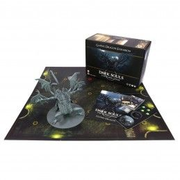 STEAMFORGED GAMES DARK SOULS THE BOARD GAME GAPING DRAGON ESPANSIONE GIOCO DA TAVOLO ITALIANO