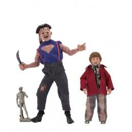 THE GOONIES - SUPER SLOTH AND CHUNK CLOTHED ACTION FIGURE