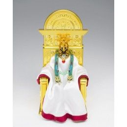 SAINT SEIYA MYTH CLOTH EX ARIES SHION SURPLICE POPE SET WITH THRONE BANDAI
