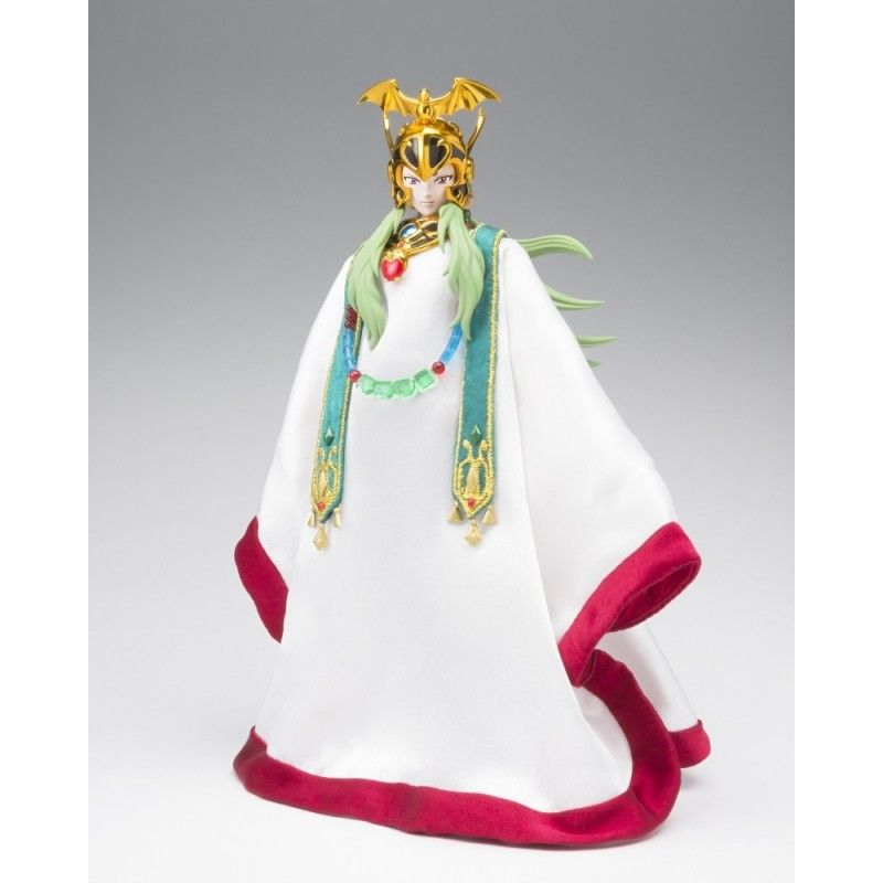 BANDAI SAINT SEIYA MYTH CLOTH EX ARIES SHION SURPLICE POPE SET WITH THRONE