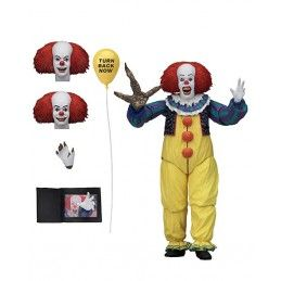 IT 1990 PENNYWISE ULTIMATE VERSION 2 DELUXE ACTION FIGURE