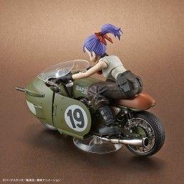 DRAGON BALL - FIGURE RISE MECH BULMA MOTORCYCLE MODEL KIT ACTION FIGURE BANDAI