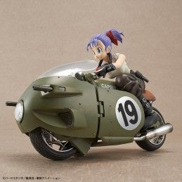 BANDAI DRAGON BALL - FIGURE RISE MECH BULMA MOTORCYCLE MODEL KIT ACTION FIGURE