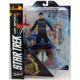 STAR TREK INTO DARKNESS - KIRK AND SPOCK ACTION FIGURE DIAMOND SELECT