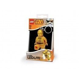 STAR WARS LEGO - C-3PO LEDLITE PORTACHIAVI TORCIA