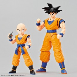 DRAGON BALL Z - RISE SON GOKOU ADN KRILLIN MODEL KIT FIGURE