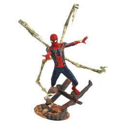DIAMOND SELECT MARVEL PREMIER AVENGERS 3 IRON SPIDER-MAN STATUE RESIN FIGURE