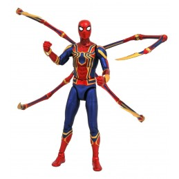 MARVEL SELECT AVENGERS 3 IRON SPIDER-MAN ACTION FIGURE