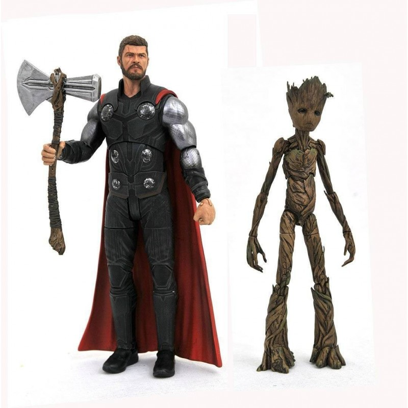 MARVEL SELECT AVENGERS 3 THOR ACTION FIGURE