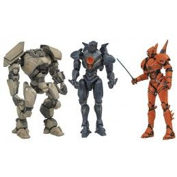 PACIFIC RIM 2 SELECT SERIE 1 SET ACTION FIGURE NECA