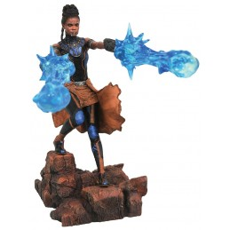 MARVEL GALLERY BLACK PANTHER MOVIE - SHURI STATUE 22CM FIGURE