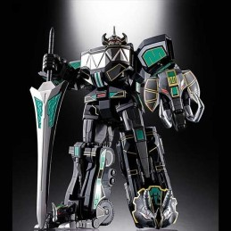 SOUL OF CHOGOKIN GX-72B MEGAZORD BLACK DIE CAST SDCC 2018 ACTION FIGURE