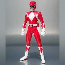 BANDAI POWER RANGERS RED RANGER SDCC 2018 S.H. FIGUARTS ACTION FIGURE