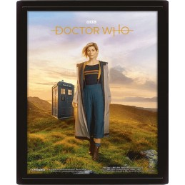 DOCTOR WHO 13TH DOCTOR LENTICULAR 3D POSTER 25X20CM
