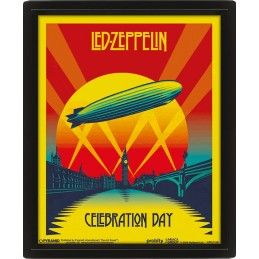 PYRAMID INTERNATIONAL LED ZEPPELIN LENTICULAR 3D POSTER 25X20CM