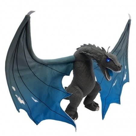 GAME OF THRONES ICY VISERION JUMBO DRAGON PLUSH 48CM PELUCHE
