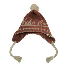 GAYA ENTERTAINMENT FALLOUT NUKA COLA HEADFLAP BEANIE BERRETTA BERRETTO