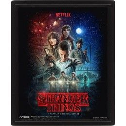 STRANGER THINGS LENTICULAR 3D POSTER 25X20CM PYRAMID INTERNATIONAL
