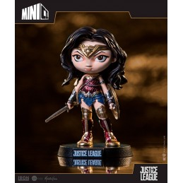 JUSTICE LEAGUE MOVIE WONDER WOMAN MINICO FIGURE 13 CM STATUE