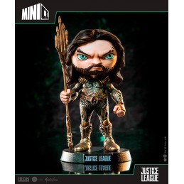 JUSTICE LEAGUE MOVIE AQUAMAN MINICO FIGURE 13 CM STATUE