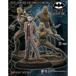 BATMAN MINIATURE GAME - THE COURT OF OWLS CREW MINI RESIN STATUE FIGURE