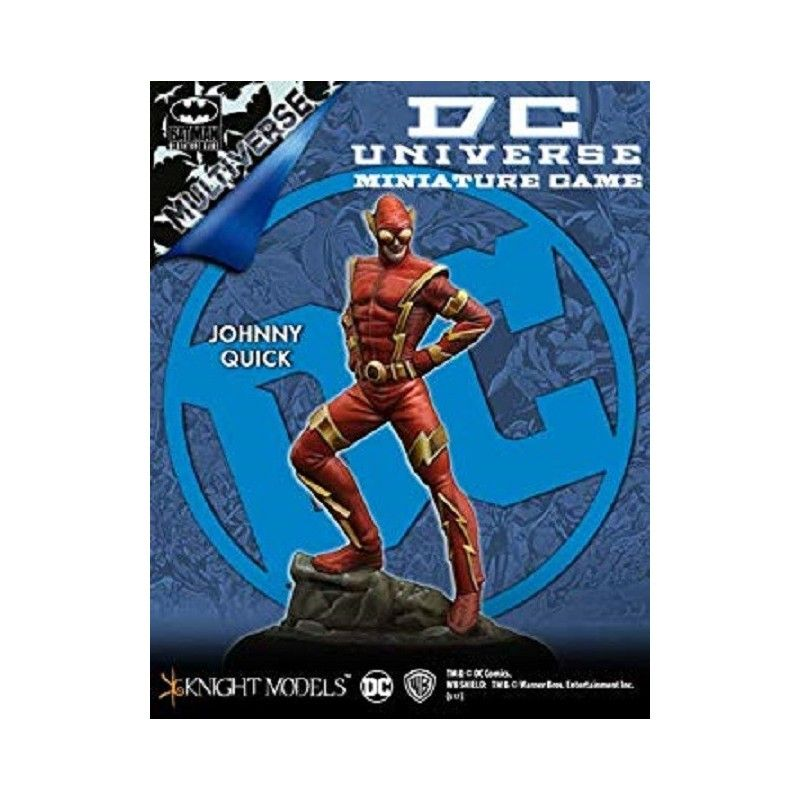 BATMAN MINIATURE GAME DCU - JOHNNY QUICK MINI RESIN STATUE FIGURE