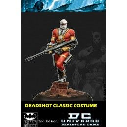 BATMAN MINIATURE GAME DCU - DEADSHOT CLASSIC MINI RESIN STATUE FIGURE