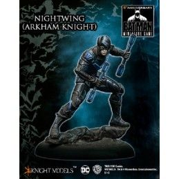 BATMAN MINIATURE GAME -  NIGHTWING (ARKHAM KNIGHT) MINI RESIN STATUE FIGURE