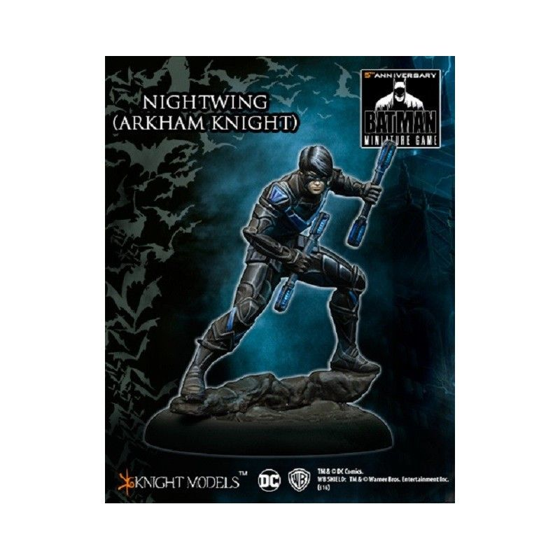 KNIGHT MODELS BATMAN MINIATURE GAME - NIGHTWING (ARKHAM KNIGHT) MINI RESIN STATUE FIGURE