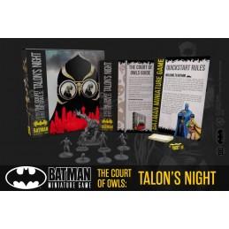 BATMAN MINIATURE GAME THE COURT OF OWLS TALON'S NIGHT BAT BOX MINI RESIN FIGURE