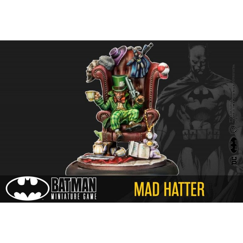 BATMAN MINIATURE GAME - MAD HATTER MINI RESIN STATUE FIGURE