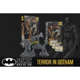 BATMAN MINIATURE GAME - TERROR IN GOTHAM MINI RESIN STATUE FIGURE KNIGHT MODELS